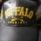 Buffalo Soldiers Military Baseball Cap 1866 Buffalo Soldier US ARMY Leather Cap