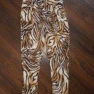 Plus size stretch pants Plus size cheetah print spandex pants XL/XXL