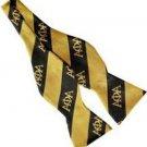 Alpha Phi Alpha Fraternity Imitation Silk Bow Tie Self Tie Bow Tie 1906 ice cold