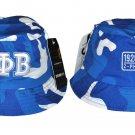 ZETA PHI BETA SORORITY BLUE WHITE Bucket Hat Z-PHI Camouflage Bucket Hat 1920