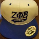 ZETA PHI BETA SORORITY BASEBALL HAT Z PHI B BLUE WHITE BASEBALL HAT SORORITY #5