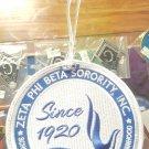 Zeta Phi Beta Sorority Luggage Tag ZETA PHI BETA LUGGAGE BAG TAG 1920
