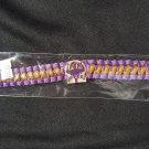 Omega Psi Phi Fraternity Twill Metal Bracelet 1911 QUE DOG Wristwear Band
