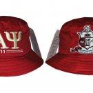 KAPPA ALPHA PSI FRATERNITY BUCKET HAT BOONEY SAFARI HAT WOODS BUCKET CAP #2