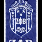 "Zeta Phi Beta ""Crest"" Luggage Tag ZETA PHI BETA LUGGAGE BAG TAG 1920 LUGGAGE TAG"