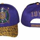 OMEGA PSI PHI FRATERNITY BASEBALL HAT CAP Q-DOG BASEBALL HAT CAP #4