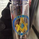 Freemason Masonic Fraternity Water bottle Jug Jar 16 oz Masonic Drink Container