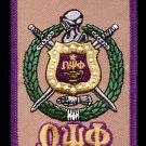 Omega Psi Phi Fraternity Luggage Tag SOBAT Luggage Duffle bag luggage name tag