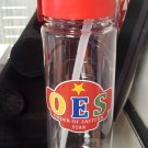 Order of Eastern Star Sorority Water bottle Divine 9 Jug  16 oz Drink Container