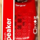 Targus Bluetooth Wireless Speaker Red New Sealed Free Shipping