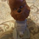 Star Wars McDonalds Happy Meal TOY # 10 Chewbacca Bobblehead   2008 AT-ST