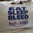 Phi Beta Sigma Fraternity Pillow Case Satin Blue White Pillow Case Cover #2