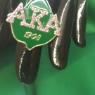 ALPHA KAPPA ALPHA Sorority Ring Jewelry Stretchy Sorority Greek Letter Ring