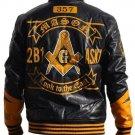 Freemason Masonic Fraternity Jacket polyurethane Freemason Coat  2B1ASK1 Jacket