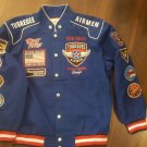 Tuskegee Airmen Jacket 332 RED TAILS US AIR FORCE SPITFIRE FLIGHT JACKET XL