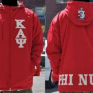 KAPPA ALPHA PSI FRATERNITY WINDBREAKER JACKET PHI NU PI WINDBREAKER JACKET 1911