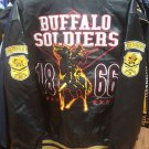 United States Army Buffalo Soldier Leather Jacket 1866 9th & 10th Cavalry #1
