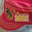 Tuskegee University Cap Hat Cadet Captains Hat SWAC HBCU Cap