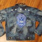 Zeta Phi Beta Sorority Denim Jacket Zeta Phi Beta Custom Denim Jean Jacket