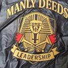 Alpha Phi Alpha Fraternity Jacket polyurethane 1906 Manly Deeds Frat Jacket