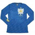 SIGMA GAMMA RHO SORORITY T-SHIRT BLUE GOLD LONG SLEEVE CASUAL T-SHIRT TOP