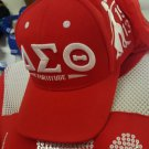 DELTA  SIGMA THETA SORORITY BASEBALL CAP HAT FORTITUDE RED CAP HAT