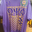 Omega Psi Phi Fraternity Short Sleeve T-SHIRT Q-DOG  1911 SOBAT TEE