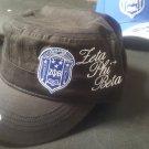ZETA PHI BETA SORORITY HAT CAP HAT Z PHI B BLACK CADET HAT 1920 5 PEARLS Z-KITTY