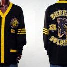 Buffalo Soldiers  US ARMY Buffalo Cardigan Sweater 9th Cavalry Wool Sweater