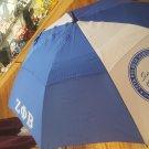 ZETA PHI BETA Sorority Umbrella  Rain Portable Long Extended Umbrella