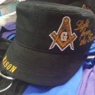 Freemason Masonic Mason Cadet Cap 3 Degrees of Light Hat Cap