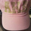 ALPHA KAPPA ALPHA SORORITY CADET HAT CAP PINK SORORITY CADET CAP HAT #4