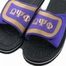 Omega Psi Phi  Fraternity Strapped Mens Flip Flop Sandals SZ 10 US