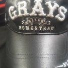 Homestead Grays Negro Leagues Leather Baseball Hat NLBM baseball Hat Cap DF