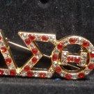 Delta Sigma Theta Sorority Fortitude Lapel Pin  Delta Diva 1913 Stone Pin #4