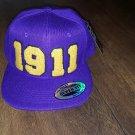 OMEGA PSI PHI FRATERNITY BASEBALL CAP OMEGA FOUNDERS YEARS Q-DOG SNAPBACK HAT