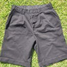 Black Khaki Shorts Normans Black Uniform School Shorts Men's black shorts 30W