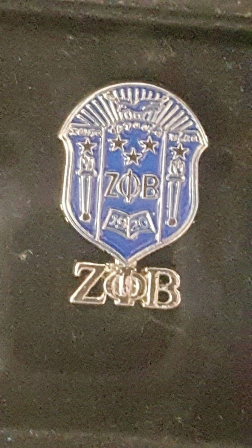 Zeta Phi Beta Sorority Lapel Pin 1920 Z-Phi-B Chrest Sorority Pin
