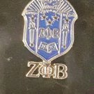 Zeta Phi Beta Sorority Lapel Pin 1920 Z-Phi-B Chrest Sorority Pin