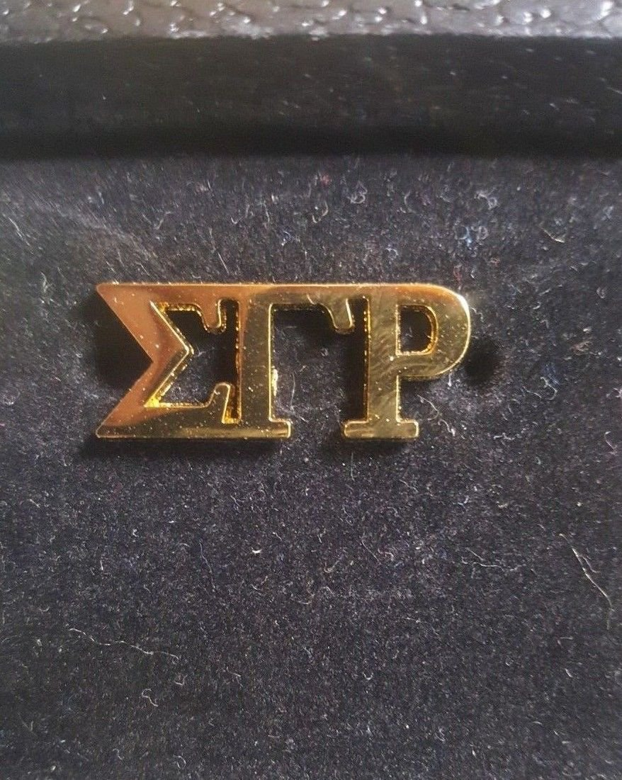 Sigma Gamma Rho Sorority Lapel Pin Poodles 1922 Stone Pin S-G-RHO #2