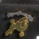 Sigma Gamma Rho Sorority Lapel Pin Poodles 1922 Stone Pin S-G-RHO #4