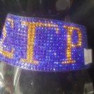 Sigma Gamma Rho Sorority Bracelet Poodles Stone Crystal Bling Magnetic bracelet
