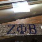 Zeta Phi Beta Sorority Bracelet Stone Crystal Bling Magnetic bracelet
