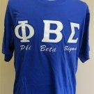 PHI BETA SIGMA FRATERNITY T-SHIRT 1914 Phi Beta Sigma Fraternity Blue T-Shirt #4