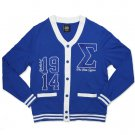 PHI BETA SIGMA  FRATERNITY CARDIGAN SWEATER MEN'S CARDIGAN SWEATER 1914