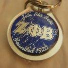 ZETA PHI BETA Sorority  Mirror Key Chain Divine 9 Keychain Crossing Gifts #1