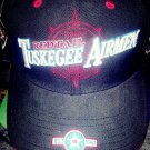 TUSKEGEE AIRMAN  BASEBALL CAP TUSKEGEE AIRMEN RED TAIL HAT USA AIR FORCE #9