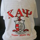 KAPPA ALPHA PSI FRATERNITY SHORT SLEEVE V-NECK T-SHIRT PHI NU PI V-NECK TEE