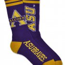 ALCORN STATE UNIVERSITY  SOCKS HBCU TUBE SOCKS SZ 6-11