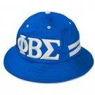 PHI BETA SIGMA Fraternity Bucket Hat  PHI BETA SIGMA 1914 BLUE BUCKET HAT
